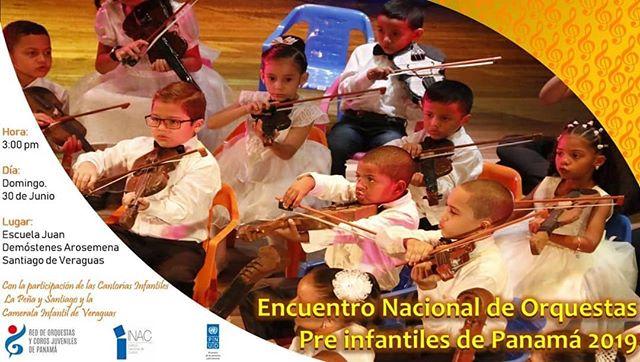 Photo of Encuentro Nacional de Orquestas Pre Infantiles de Panamá 2019