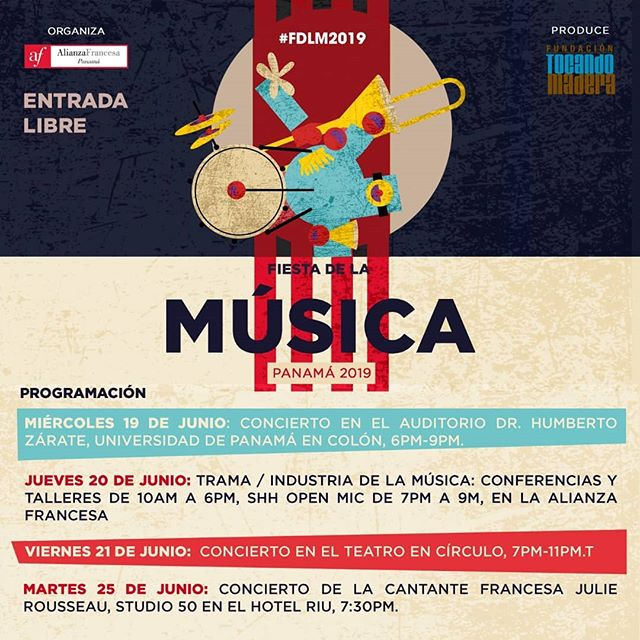 Photo of Fiesta de la Música Panamá 2019