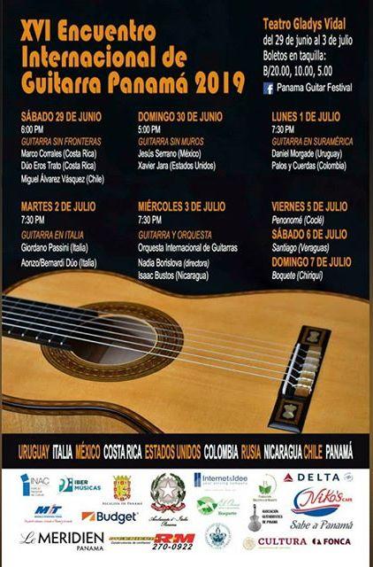 Photo of XVI Encuentro Internacional de Guitarra Panamá 2019
