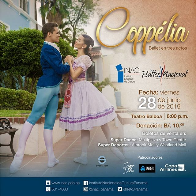Photo of Ballet Nacional de Panamá, presenta 'Coppélia'