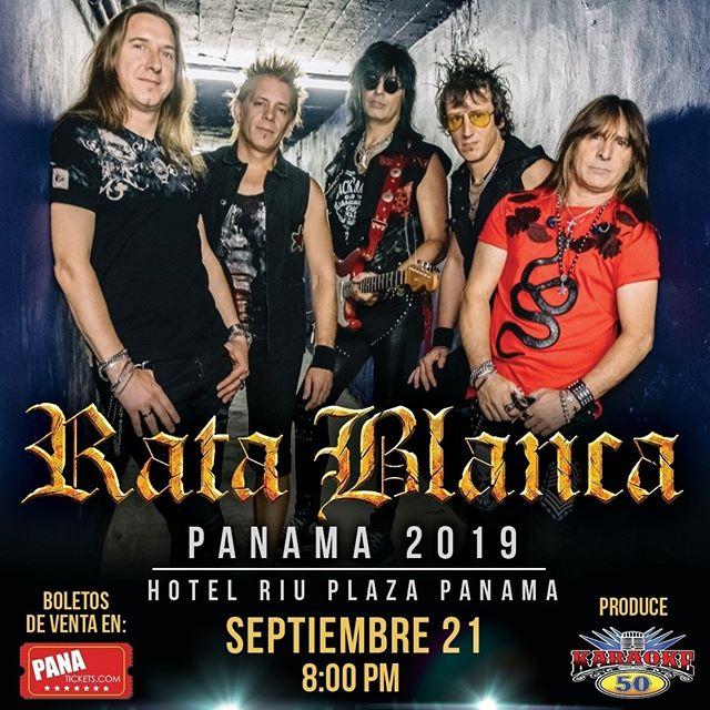 Photo of El 21 de septiembre el heavy metal llega a Panamá con la banda 'Rata Blanca'
