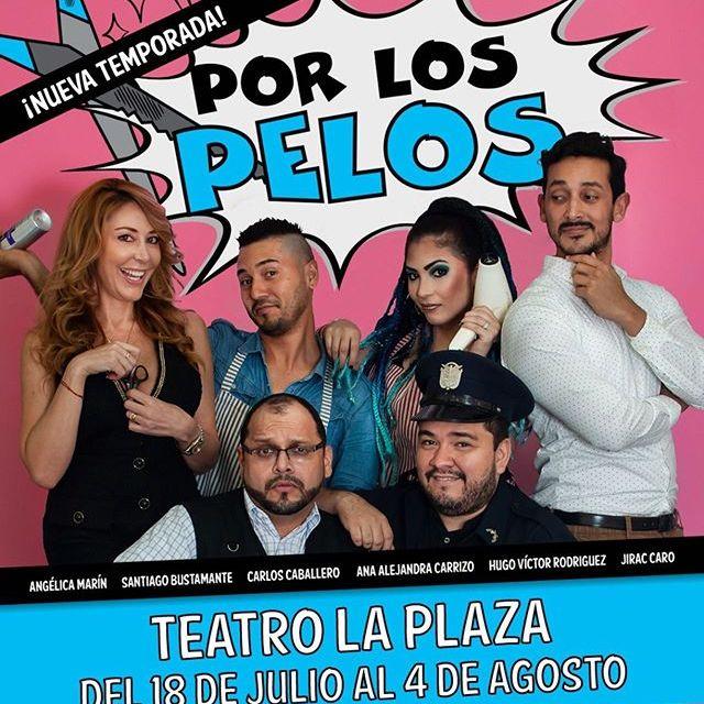 Photo of Teatro la Plaza presenta la obra 'Por los Pelos'
