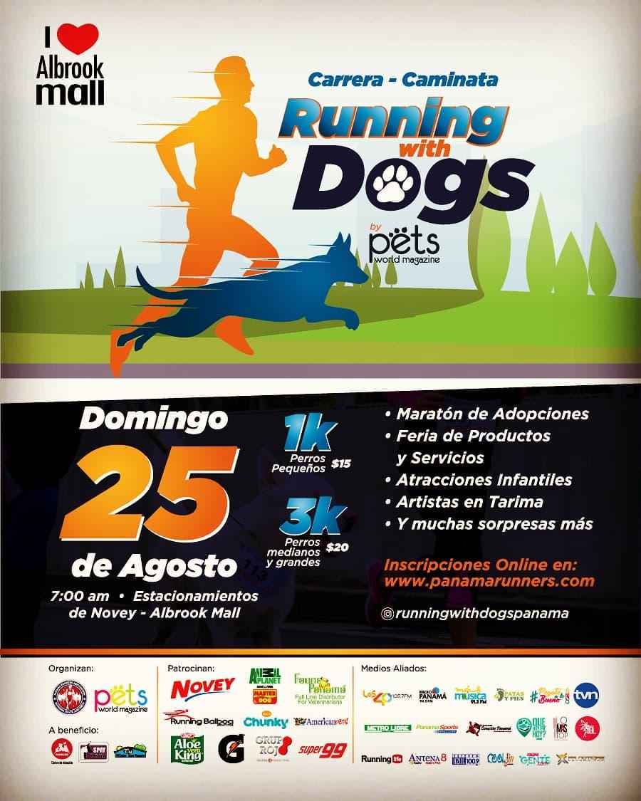 Photo of Carrera Caminata 'Running With Dogs'