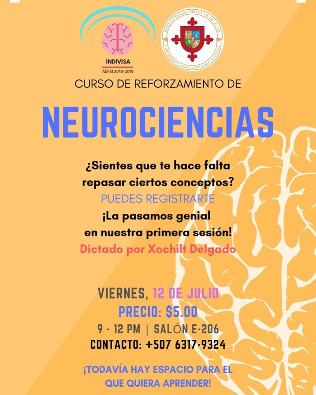 Photo of Curso de Reforzamiento de Neurociencia en Panamá