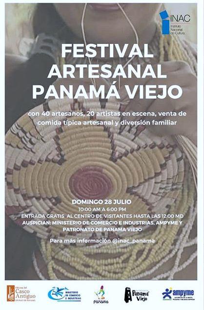 Photo of Más de 40 artistas se presentarán en el Festival Artesanal de Panamá Viejo