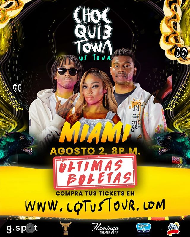 Photo of La agrupación Chocquibtown prepara gira 'US Tour'