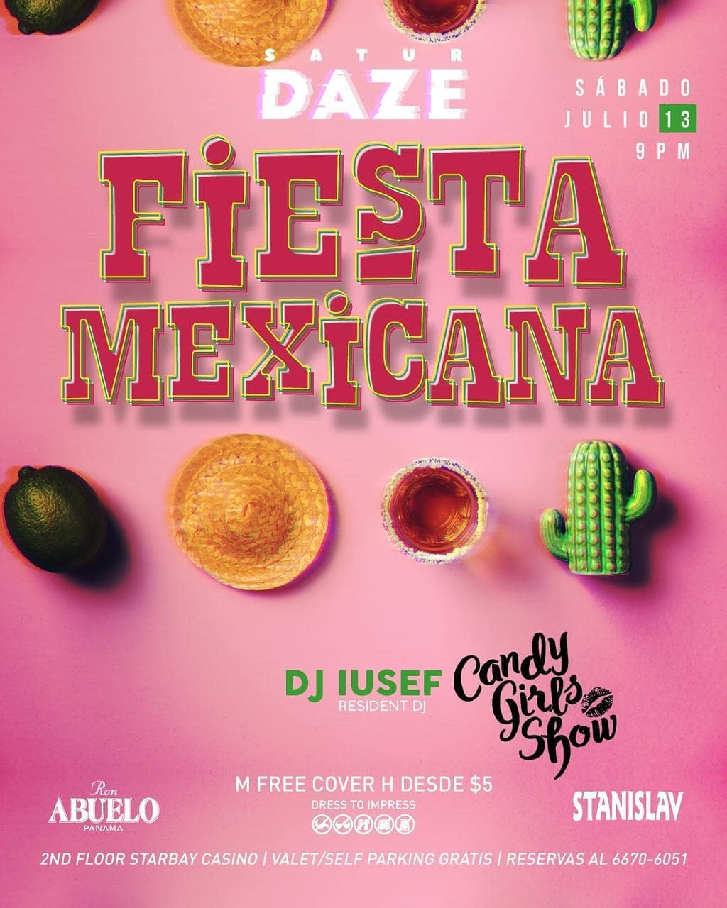 Photo of Fiesta mexicana en la disco 5to5 con un show de las Candygirls