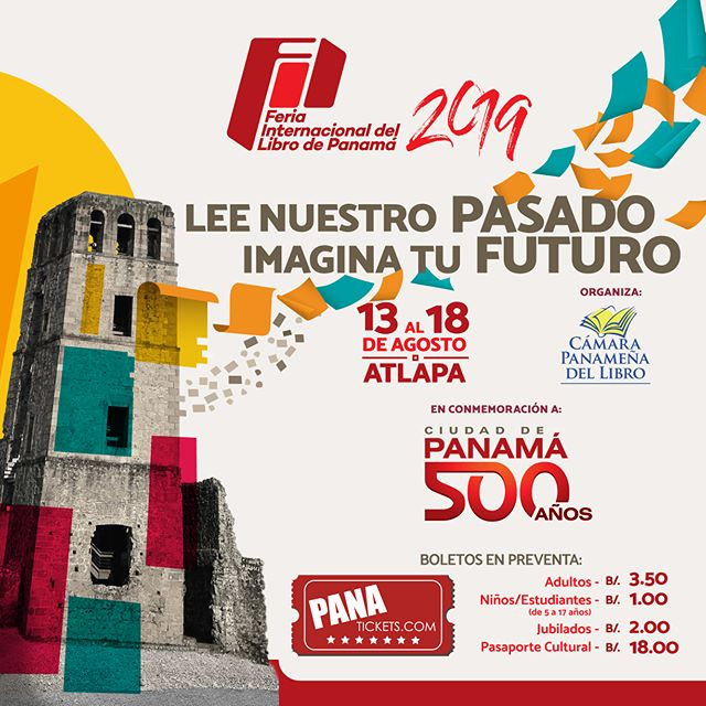 Photo of Panamá presenta «La Feria Internacional del Libro 2019»