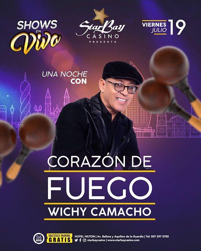 Photo of Show en vivo con Wichy Camacho en Starbay Casino