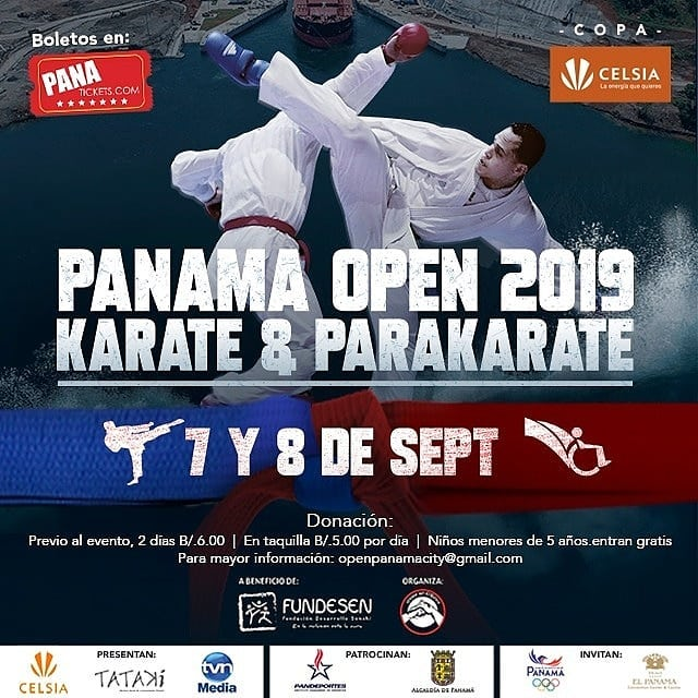 Photo of Panamá Open 2019 Karate & Parakarate