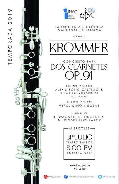 Photo of La Orquesta Sinfónica Nacional presenta 'Krommer'