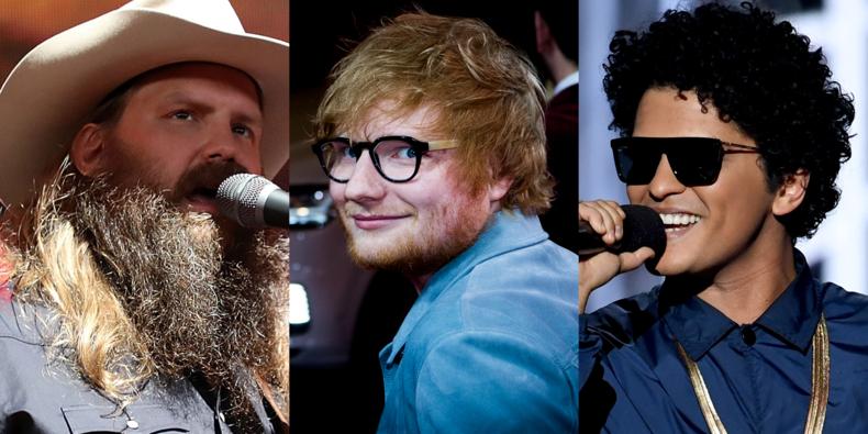 Photo of Ed Sheeran, Bruno Mars y Chris Stapleton estrenan el videoclip de 'BLOW'