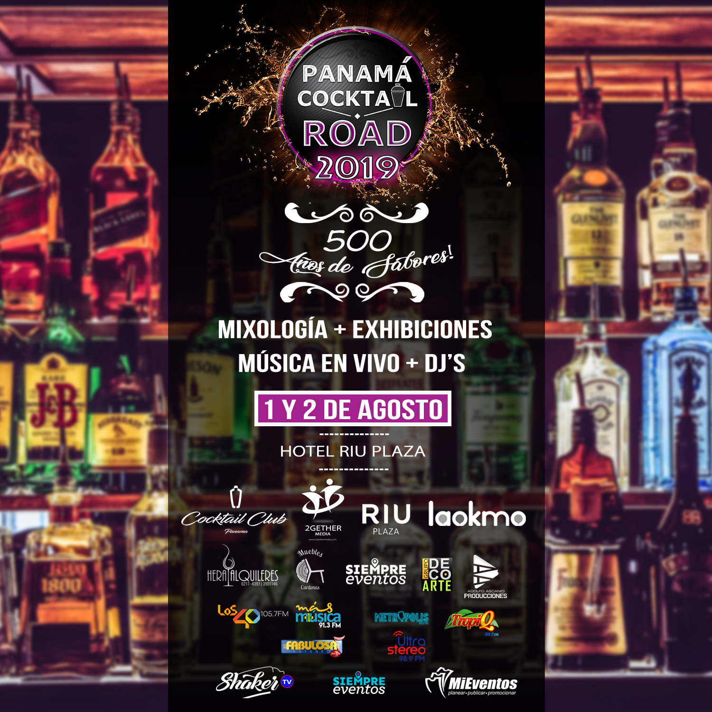 Photo of Panamá Cocktail Road llega en su 2da edición el 01 de agosto