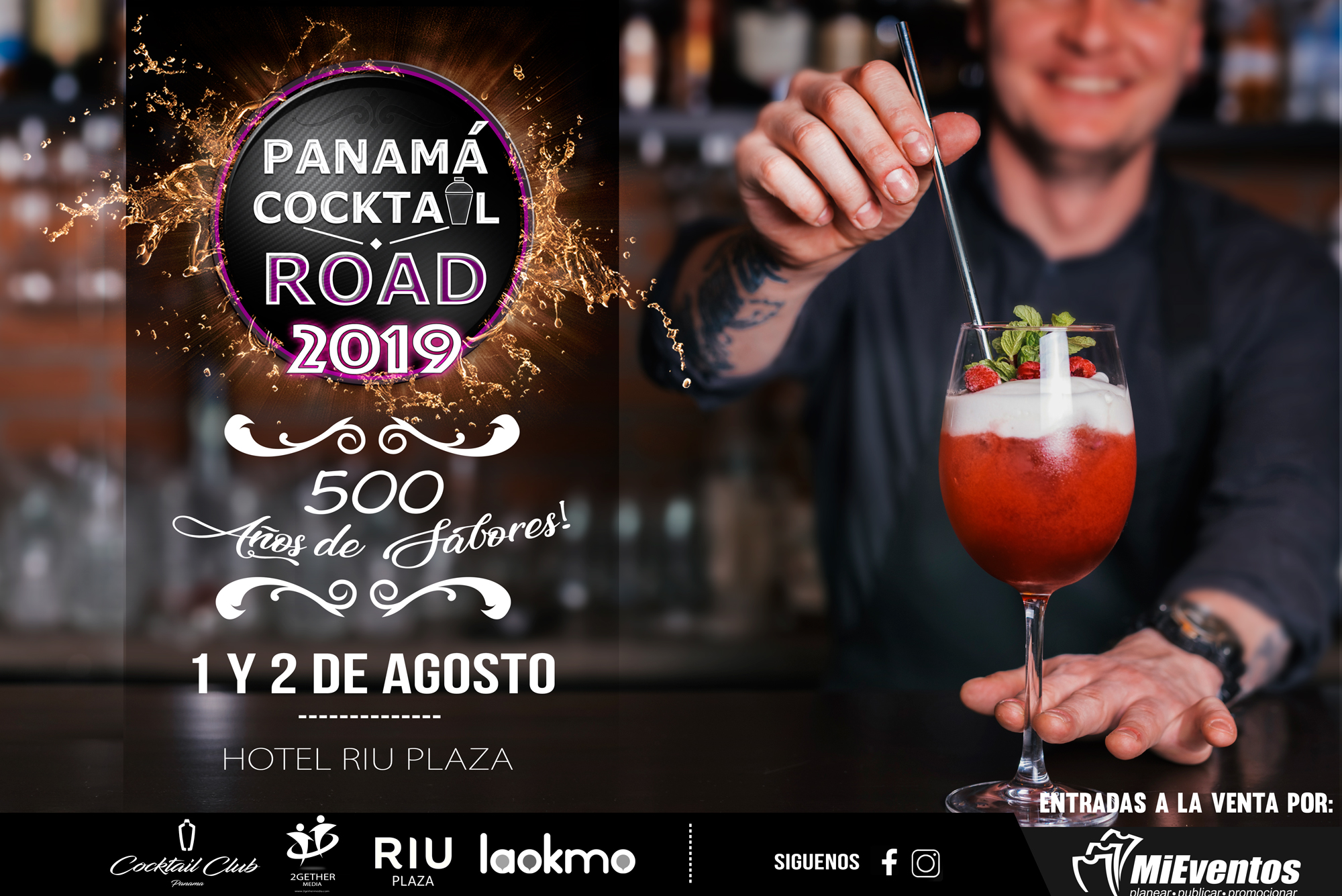 Photo of 2da. Edición de Panamá Cocktail Road 2019