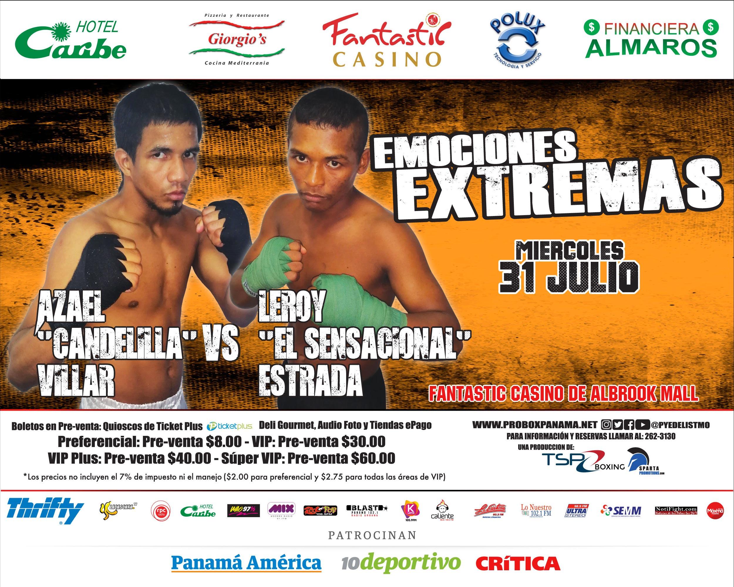 Photo of El Boxeo presenta «Emociones Extremas» en Fantastic Casino