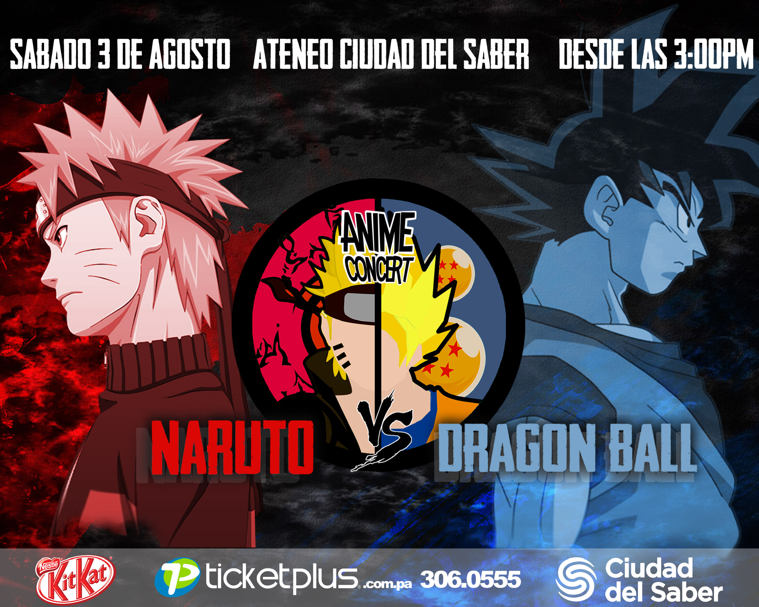 Photo of Anime Concierto de Naruto Vs Dragon Ball en Ateneo de Ciudad del Saber