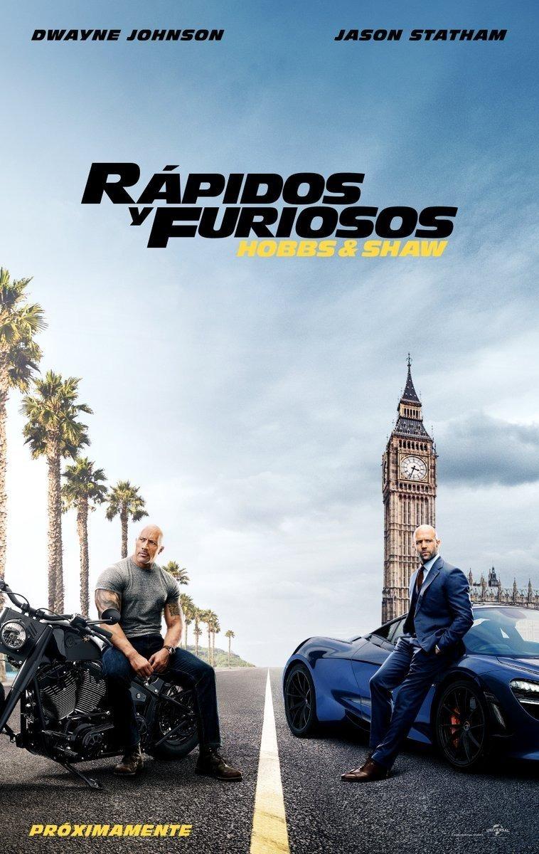 Photo of Estreno en cines de Rápidos y Furiosos: Hobbs y Shaw