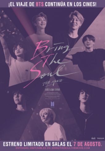 Photo of BTS presentan 'Bring The Soul: The Movie'