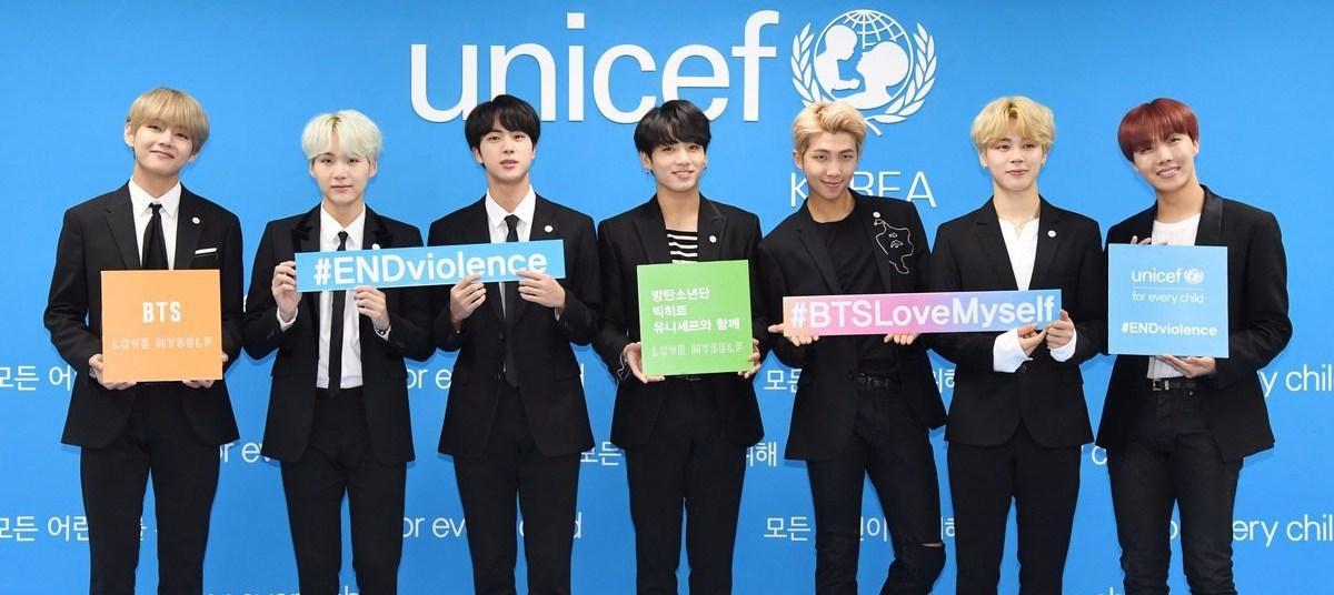 Photo of BTS participa en la campaña del día internacional de la amistad de UNICEF