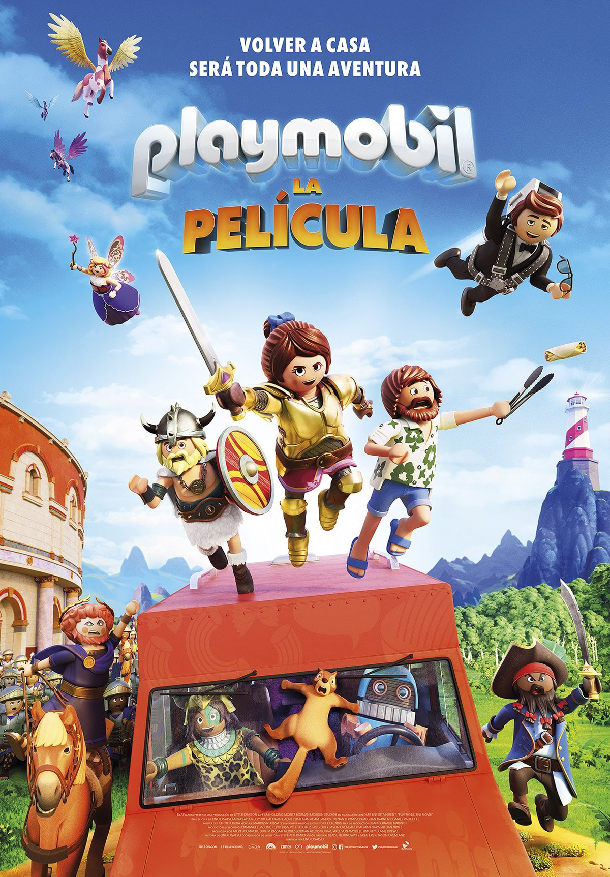 "Photo of Disfruta en cines de ""Playmobil la Película"""