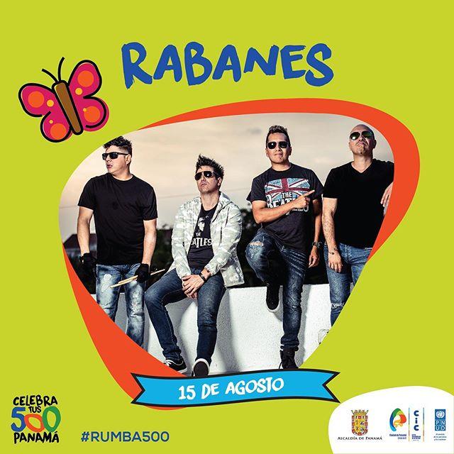 Photo of Los Rabanes en concierto celebrando los 500 años de la ciudad de Panamá