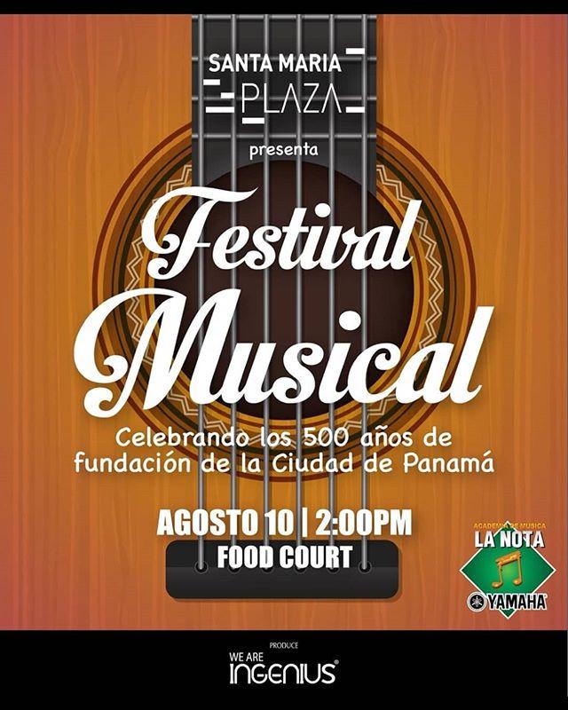 Photo of Santa María Plaza presenta «Festival de Música»