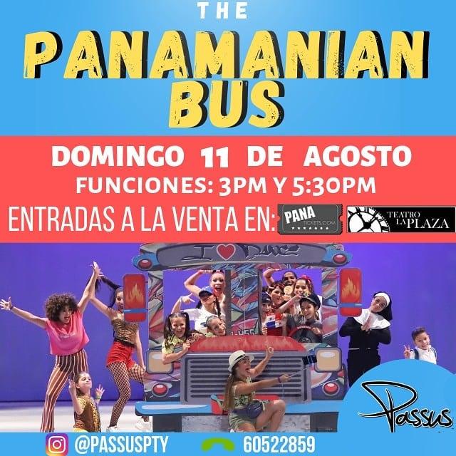 Photo of Bailarines presentan «The Panamanian Bus» en Teatro la Plaza