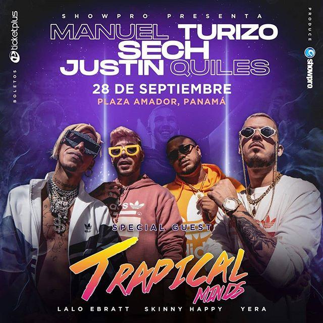 Photo of Trapical Minds serán parte de la fiesta del año en Panamá el próximo 28 de septiembre