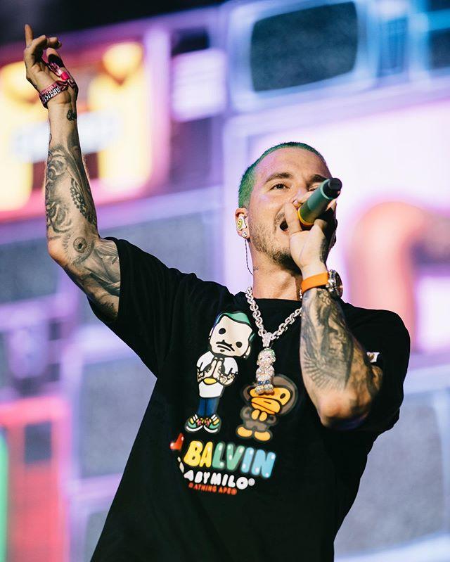 Photo of J Balvin se convirtió en el primer latino en presentarse en el Festival Lollapalooza Chicago