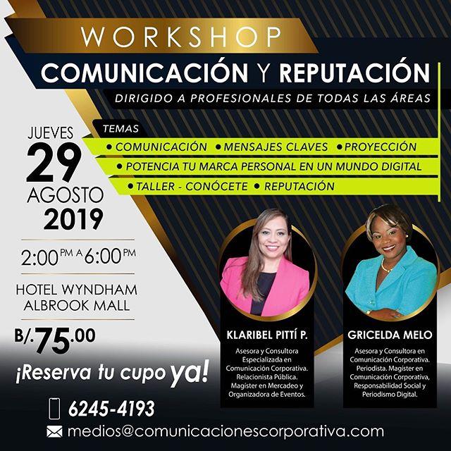 Photo of Workshop de Comunicación y Reputación en Panamá