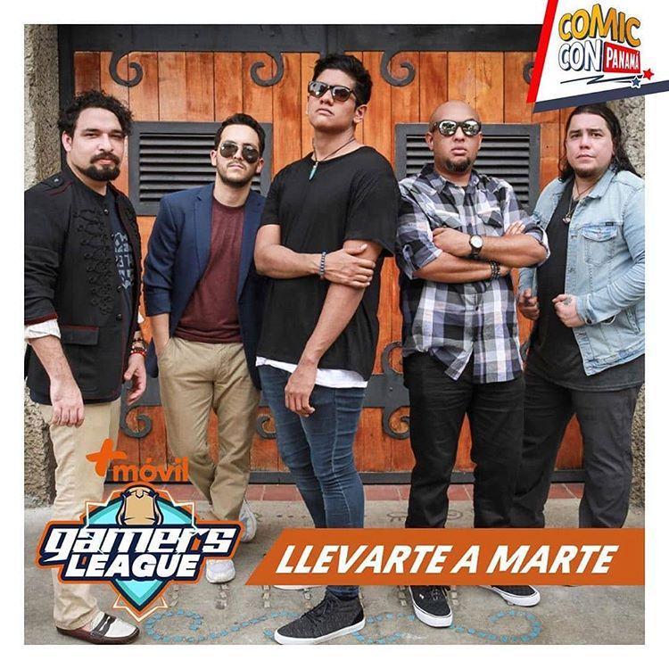 """Photo of La agrupación """"Llevarte a Marte"""" será parte del Comic Con Panamá 2019"""