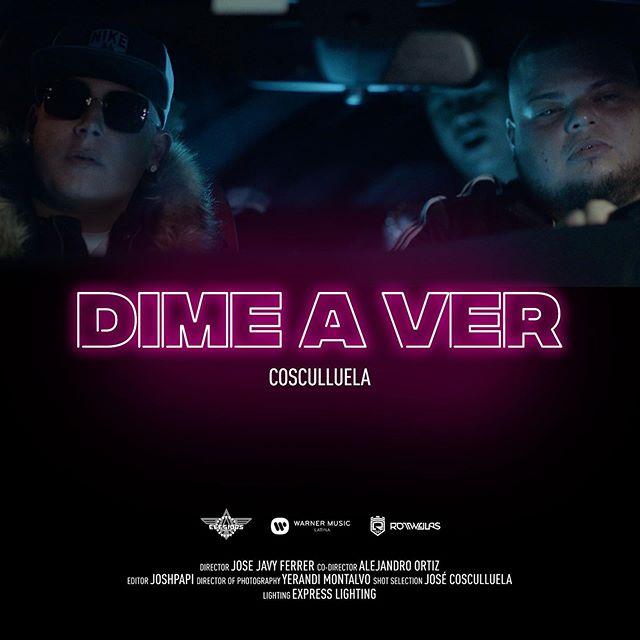 Photo of El cantante Cosculluela volvió con 'Dime a Ver' su nuevo single