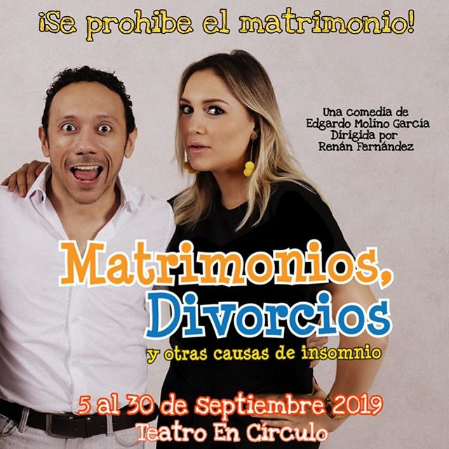 Photo of Próximamente la obra «Matrimonios Divorcios y otras Causas de Insomnio»