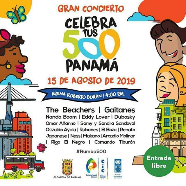 Photo of Gran Concierto 'Celebra tus 500 años de Panamá' este 15 de agosto