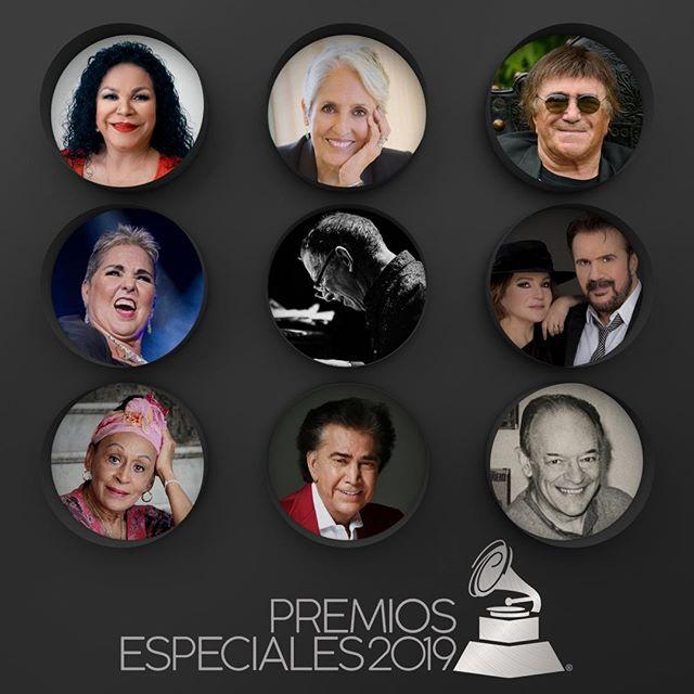Photo of Los Latin Grammy anuncian los homenajeados para el 'Premio a la Excelencia Musical'