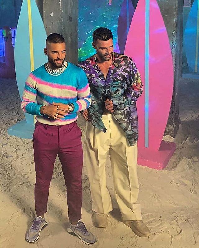Photo of Ricky Martin y Maluma, anuncian su nueva colaboración