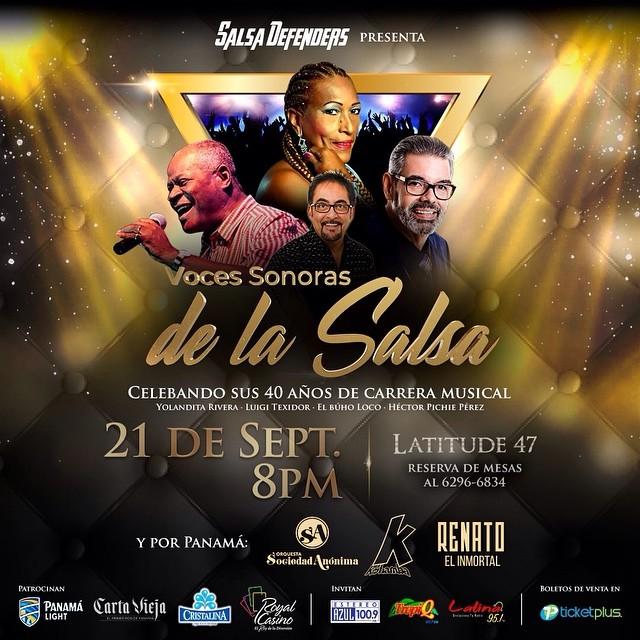 Photo of Salsa Defenders presenta las «Voces Sonoras De La Salsa» en un concierto el 21 de septiembre