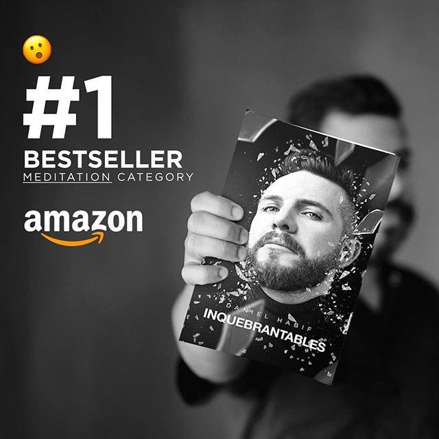 Photo of El libro 'Inquebrantable' de Daniel Habif se convirtió en 24 horas el #1 en ventas en Amazon y en Kindle