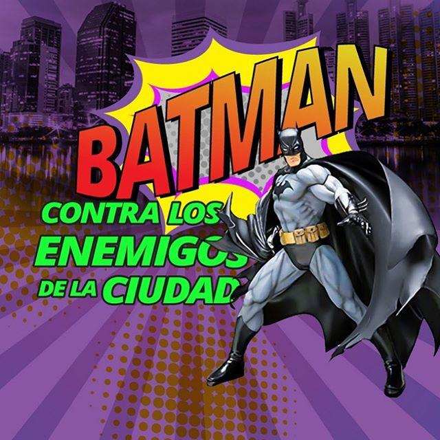 """Photo of Teatro el Ángel presenta su nueva obra infantil """"Batman contra los enemigos de la ciudad"""""""