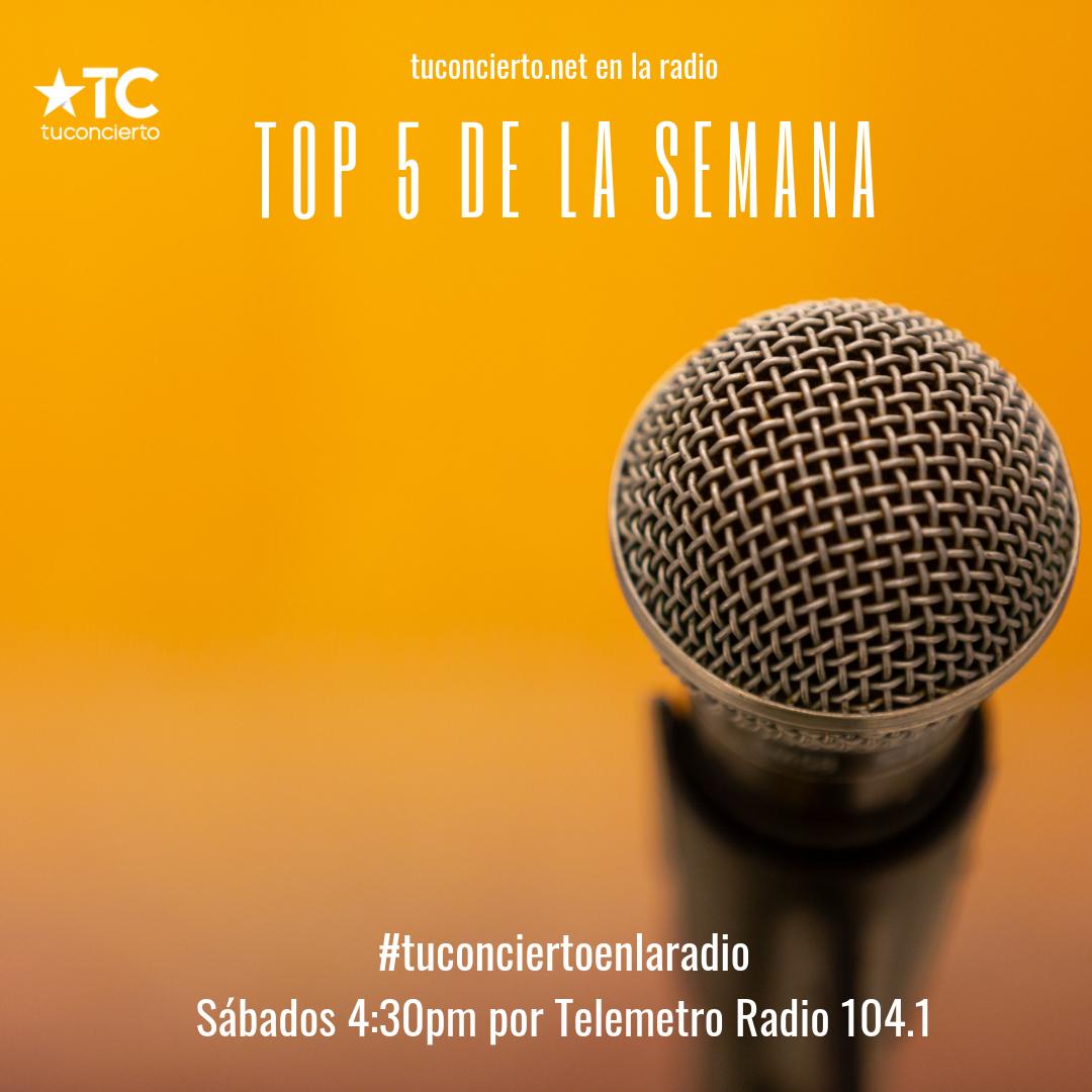 Photo of El #Top5 de la semana de tuconcierto.net