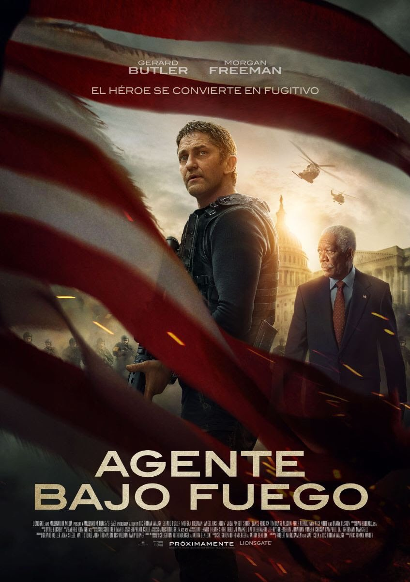 Photo of Estreno en cines de «Agente Bajo Fuego»
