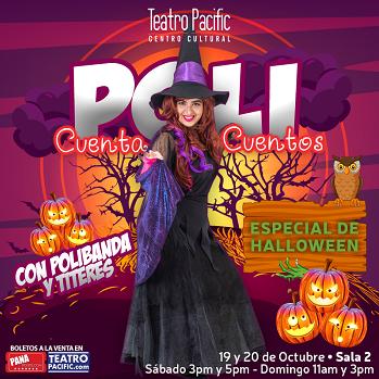 Photo of Teatro Pacific presenta 'Poli Cuenta Cuentos De Halloween'