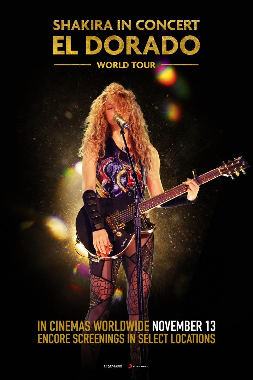 Photo of Comenzó la Preventa en Panamá para el estreno en cines de 'Shakira – El Dorado World Tour'