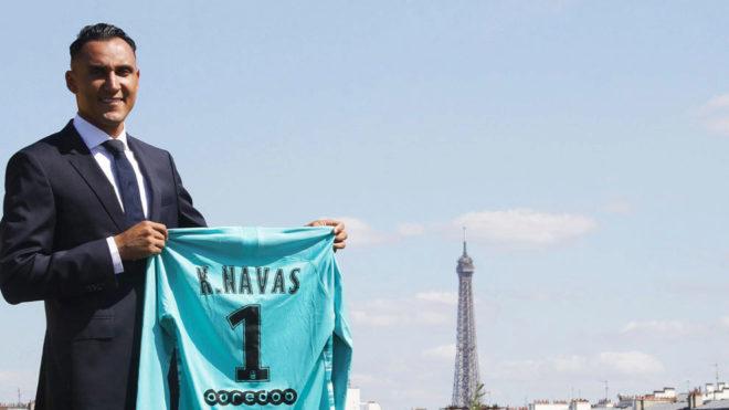 Photo of Oficial Keylor Navas ya es jugador del PSG