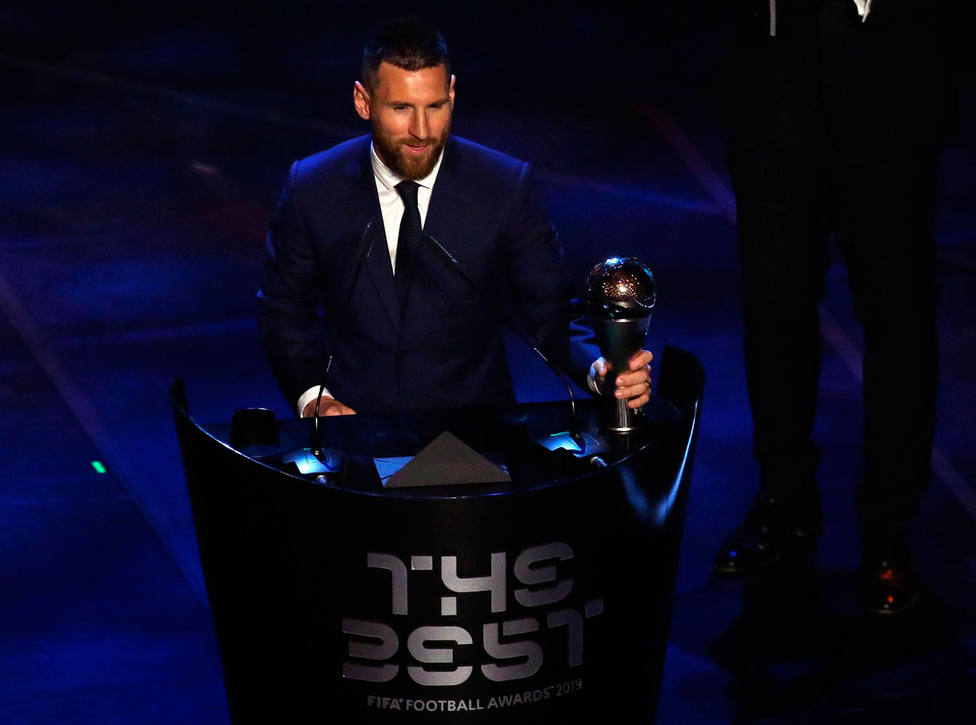 Photo of Leo Messi gana el premio 'The Best' al mejor jugador de la FIFA