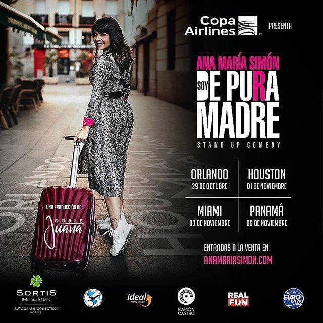Photo of Ana María Simón anuncia su gira 'Soy de Pura Madre' que llegará a Panamá en noviembre