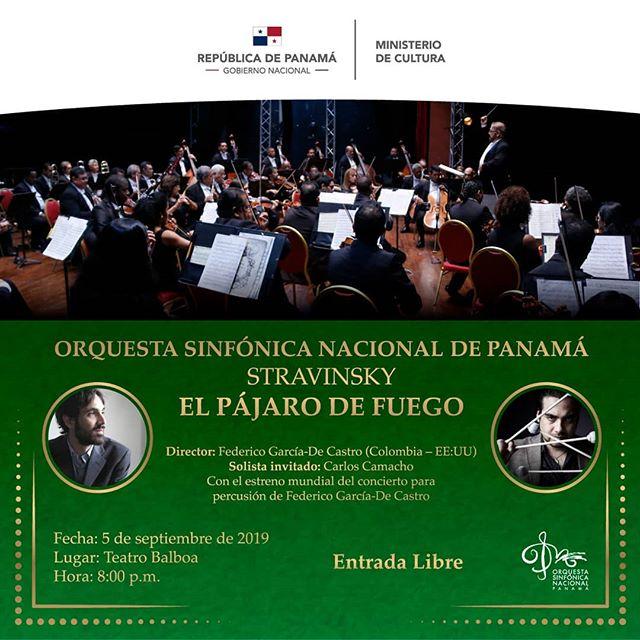 Photo of Concierto de la Orquesta Sinfónica de Panamá este 05 de septiembre