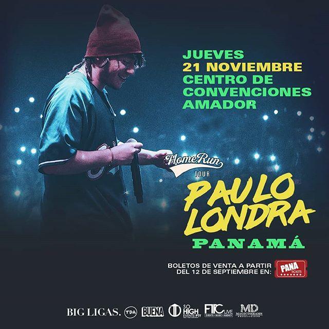 Photo of Paulo Londra estará en concierto en Panamá el próximo 21 de noviembre