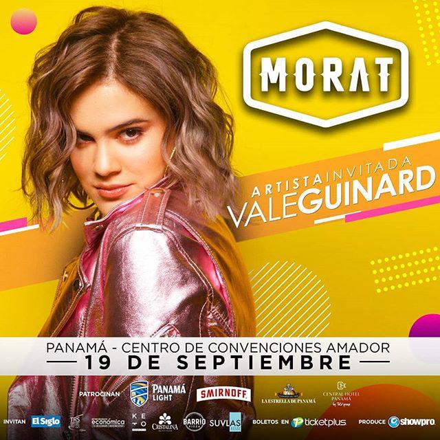 Photo of Vale Guinard es la cantante invitada para el concierto de Morat en Panamá