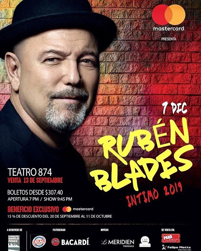 Photo of Rubén Blades presenta este 2019 concierto intimo en Panamá